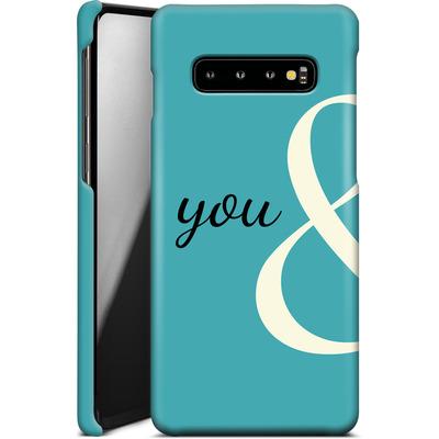 Samsung Galaxy S10 Plus Smartphone Huelle - You And von caseable Designs