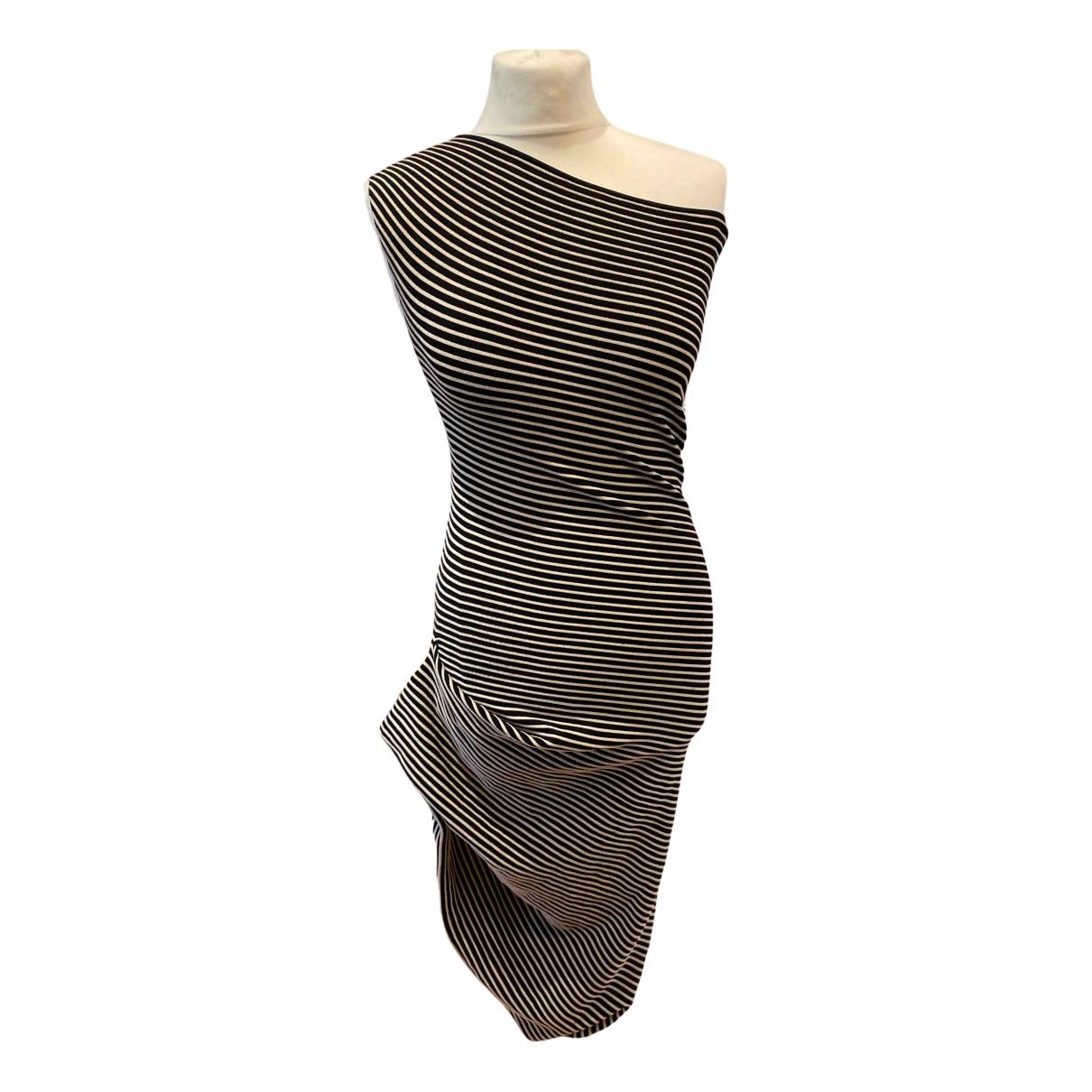 Roland Mouret \N Multicolour Cotton - elasthane dress for Women 14 UK