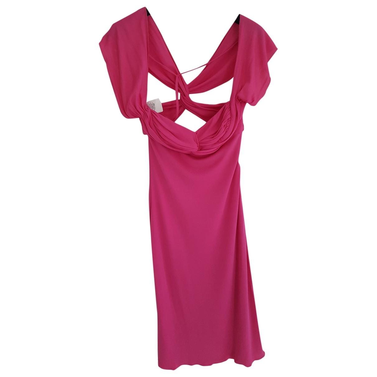 Versace \N Kleid in  Rosa Viskose