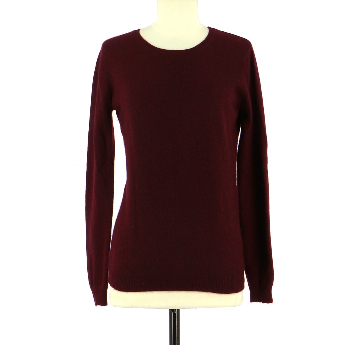Kujten \N Burgundy Cashmere Knitwear for Women 38 FR