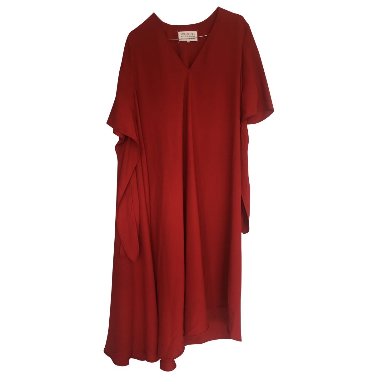Maison Martin Margiela - Robe   pour femme - rouge