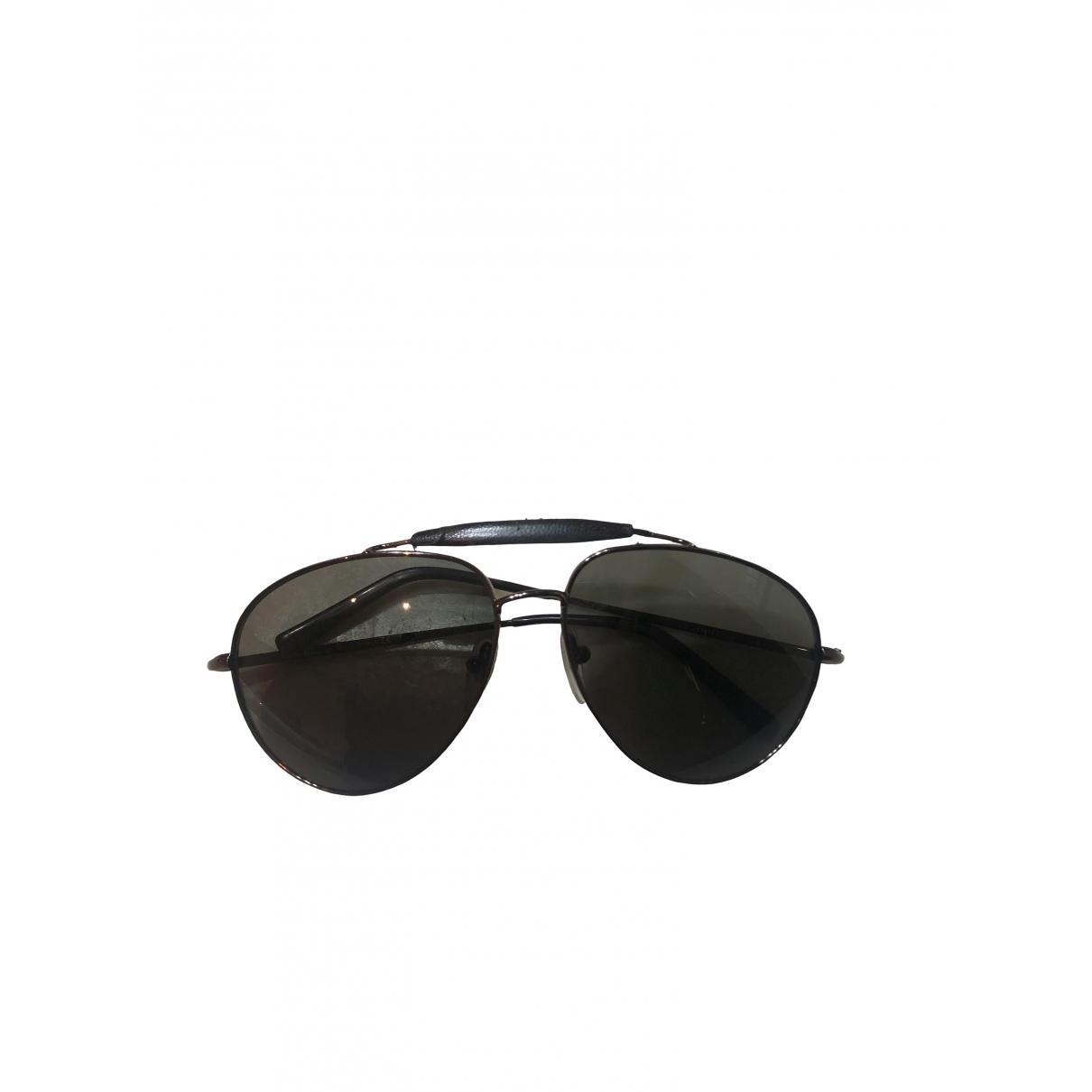 Salvatore Ferragamo \N Sonnenbrillen in  Gruen Metall