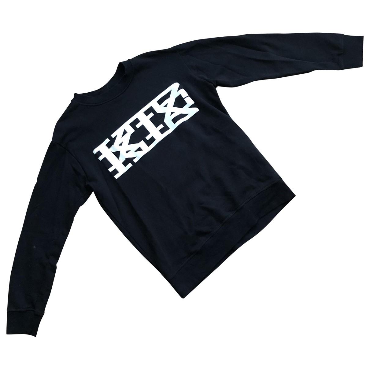 Ktz \N Pullover.Westen.Sweatshirts  in  Schwarz Baumwolle
