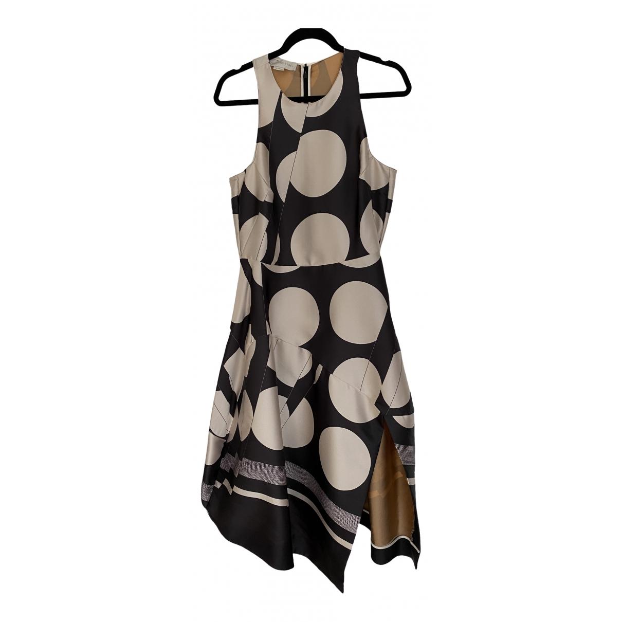 Stella Mccartney \N Kleid in  Anthrazit Polyester