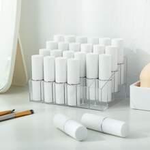 1 pieza caja de almacenamiento de lapiz labial