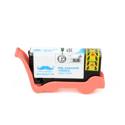 Lexmark 100XL 14N1069 14N1054 cartouche d'encre compatible cyan haute capacit�
