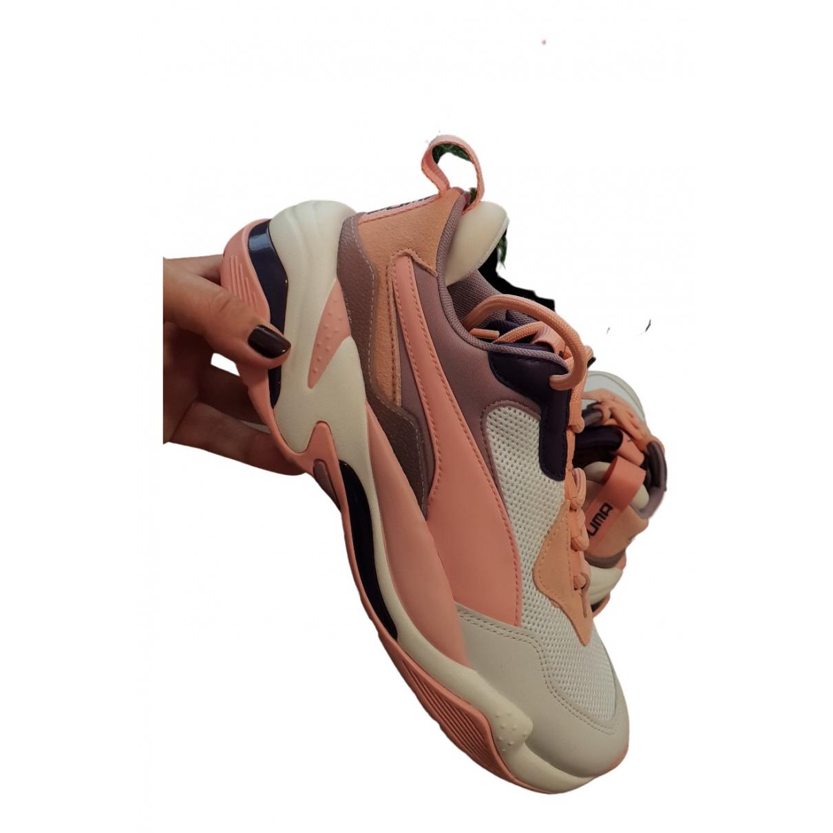Puma - Baskets   pour femme en caoutchouc - multicolore