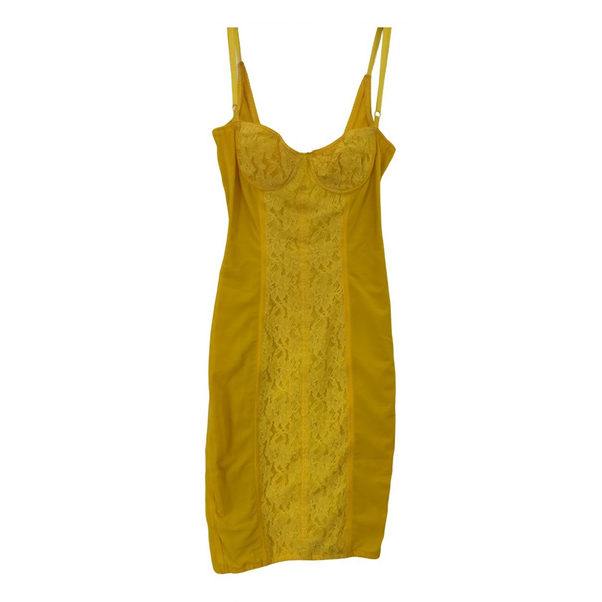 D&g - Robe   pour femme - jaune