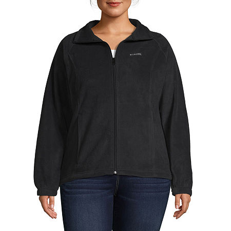 Columbia Benton Springs Fleece Lightweight Jacket-Plus, 3x , Black