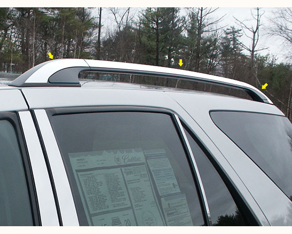 Quality Automotive Accessories 6-Piece 1-Inch Width Roof Rack Cover Cadillac Escalade 2004