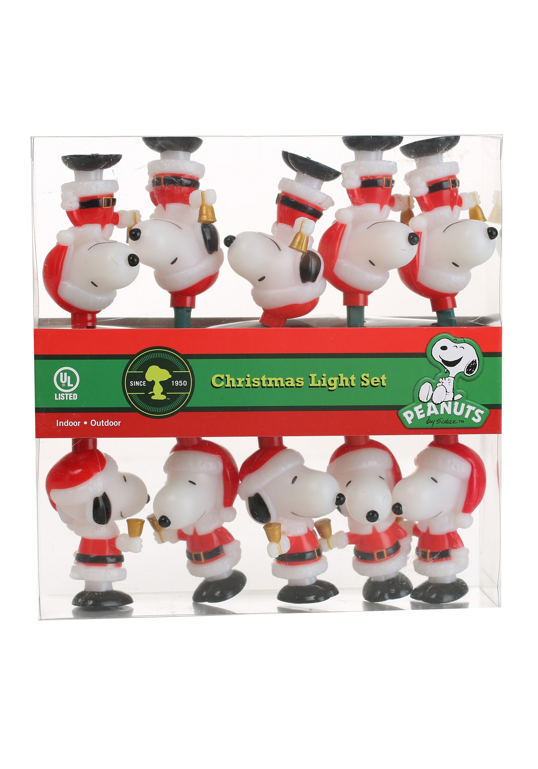 Santa Snoopy Lights