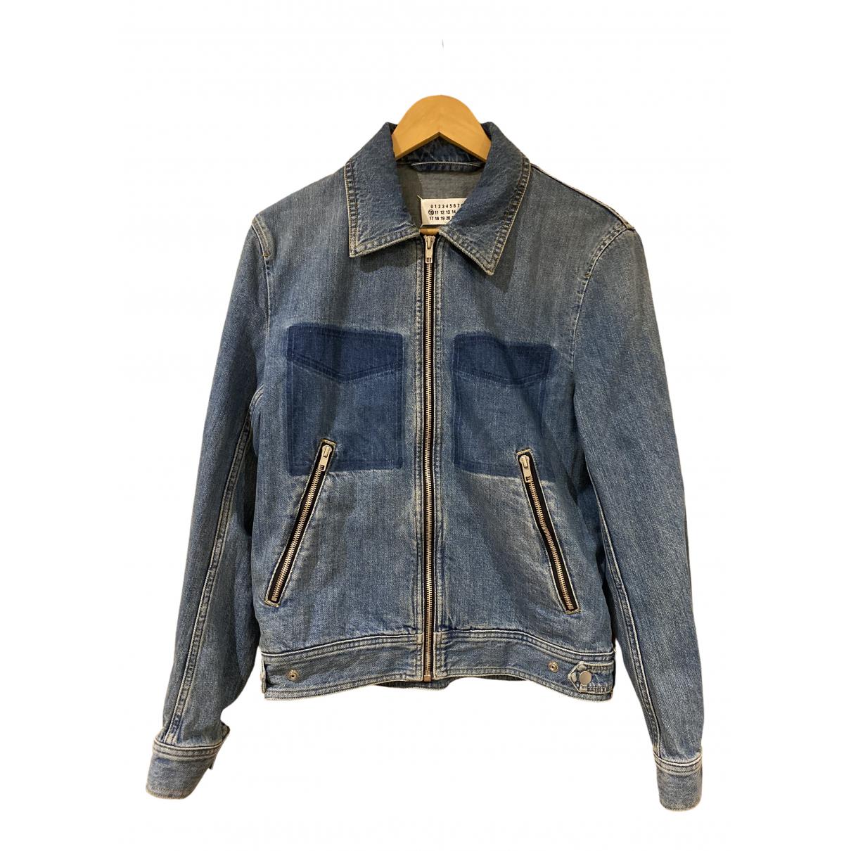 Maison Martin Margiela \N Jacke in  Blau Denim - Jeans