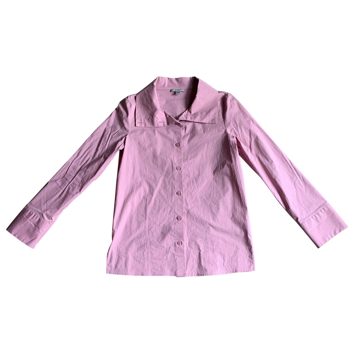 Cos \N Pink Cotton  top for Women 34 FR