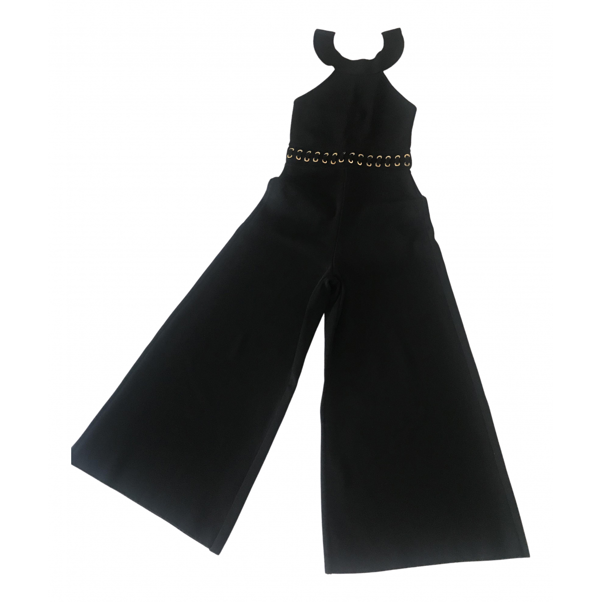 Elisabetta Franchi - Combinaison   pour femme en coton - noir