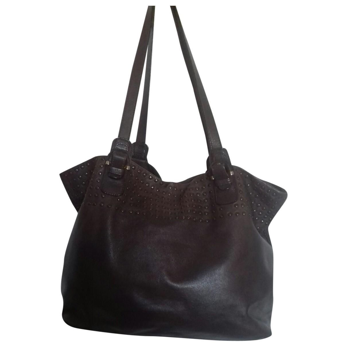 Sonia Rykiel \N Brown Leather handbag for Women \N