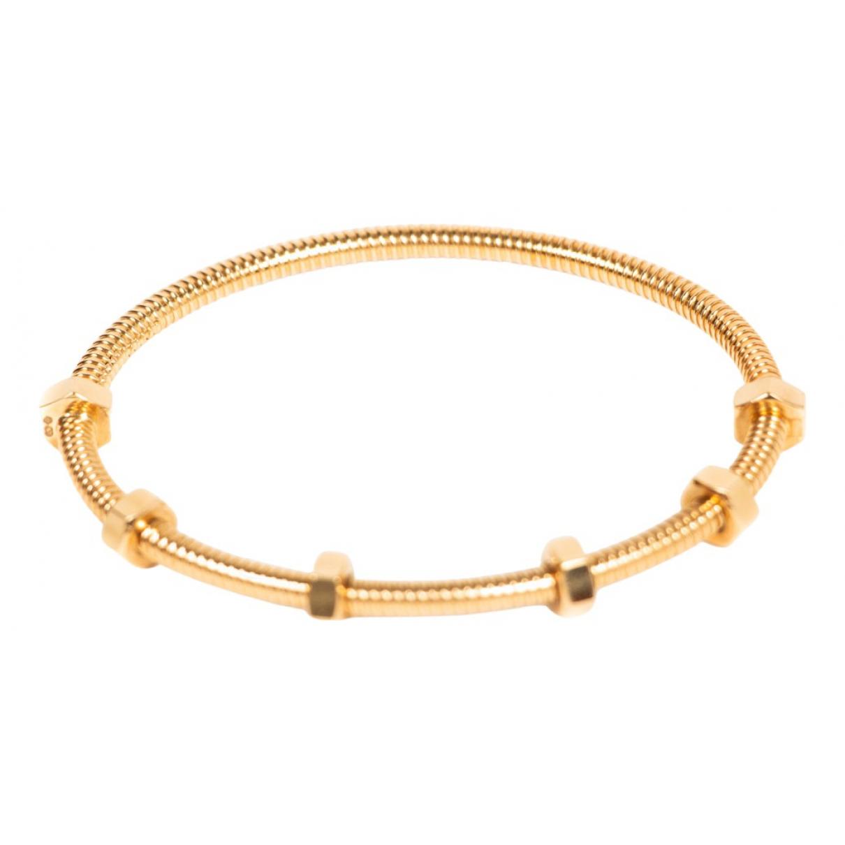 Cartier - Bracelet Ecrou pour femme en or jaune - dore