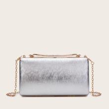 Unterarmtasche mit Strass Dekor