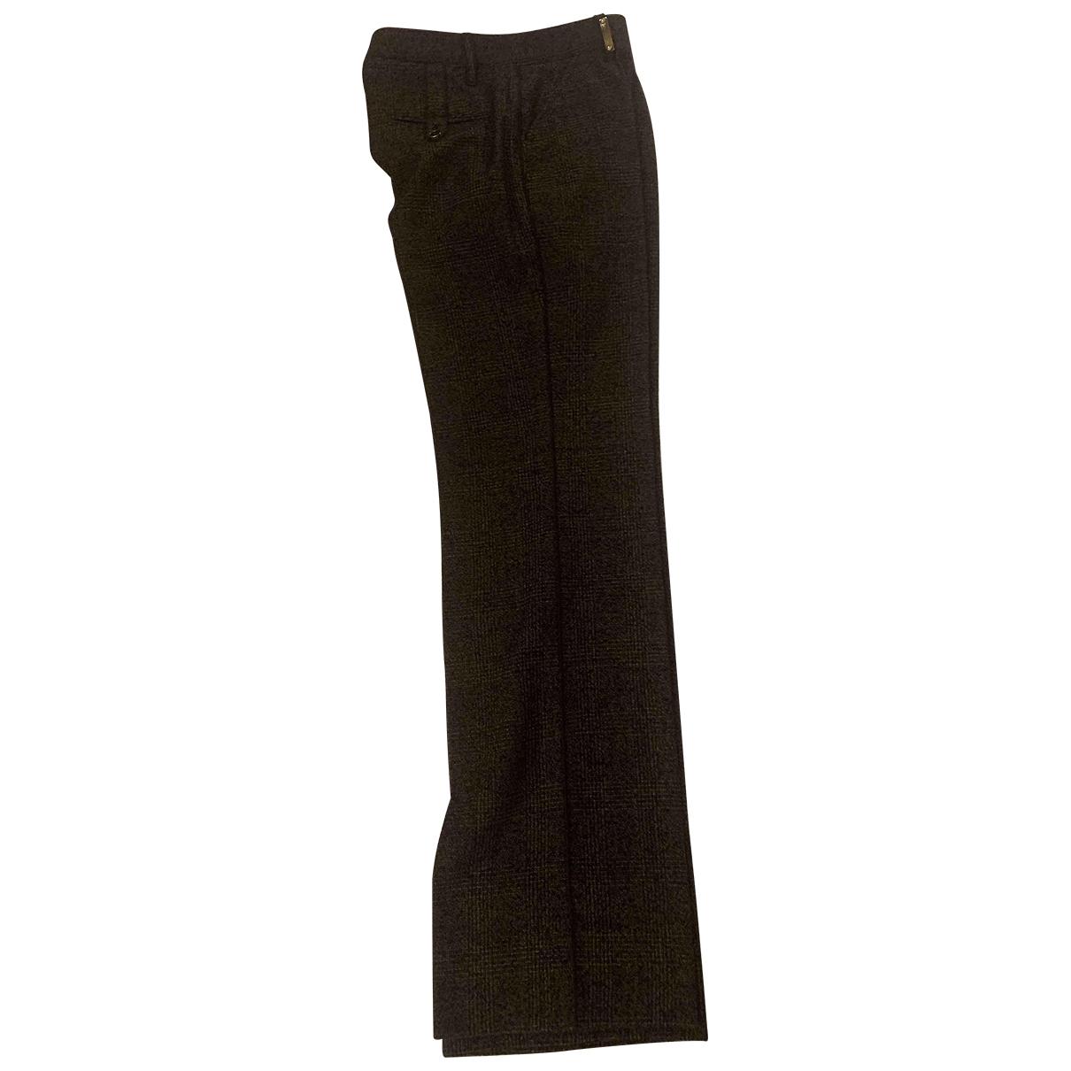 Dolce & Gabbana \N Wool Trousers for Women 44 IT