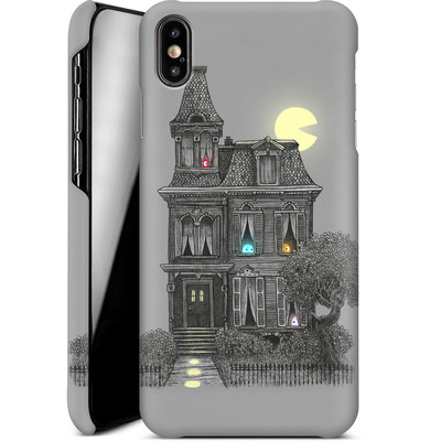 Apple iPhone XS Max Smartphone Huelle - Haunted By The 80s von Terry Fan