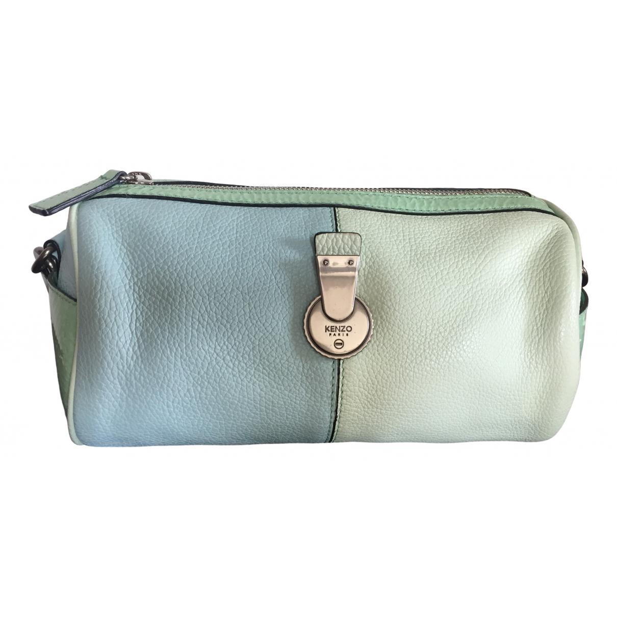 Kenzo \N Turquoise Leather handbag for Women \N