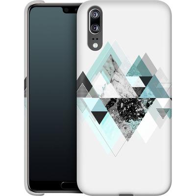 Huawei P20 Smartphone Huelle - Graphic 110 - Turquoise von Mareike Bohmer