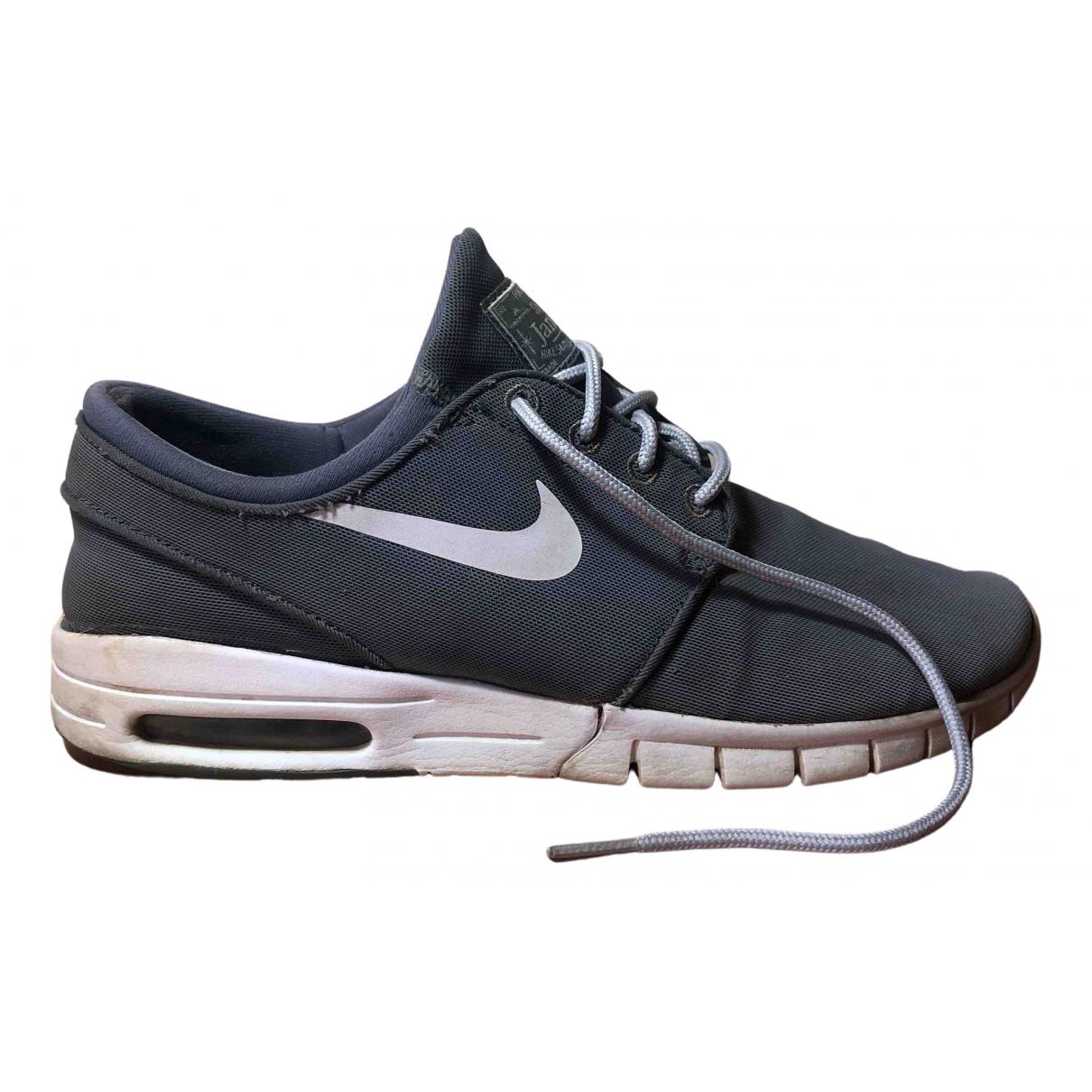 Nike Air Max  Sneakers in  Grau Leinen