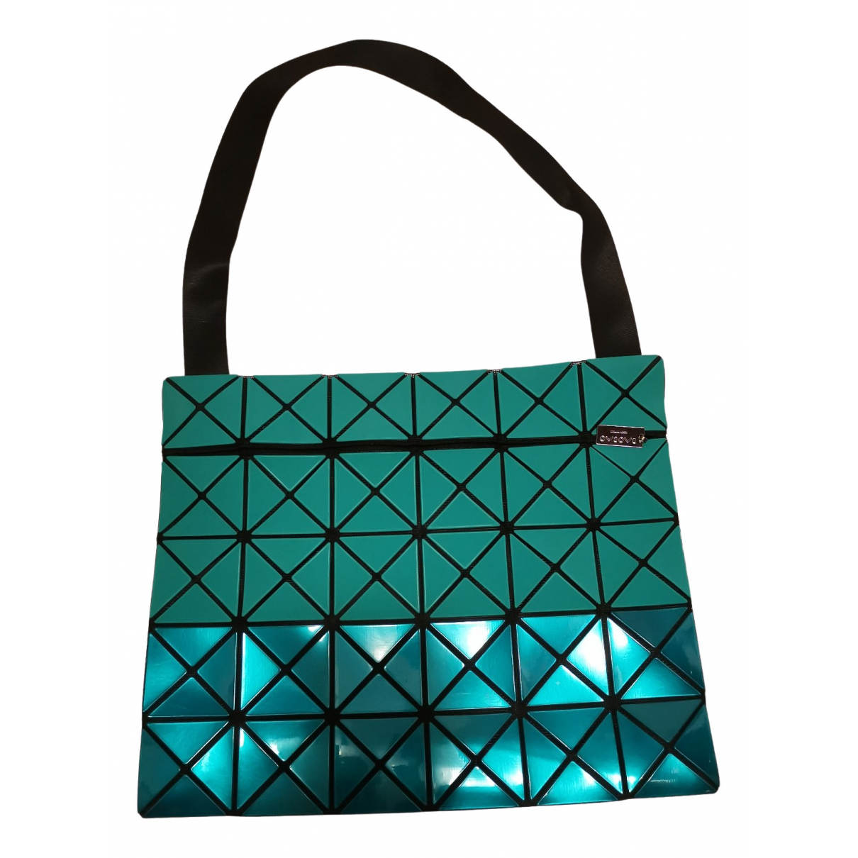 Issey Miyake - Sac a main   pour femme - turquoise
