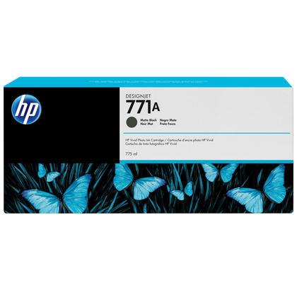HP 771A B6Y15A cartouche d'encre originale noire mat