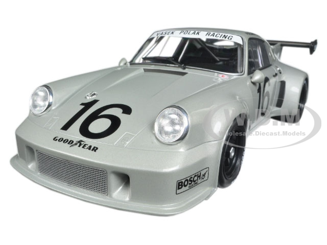 Porsche 911 RSR 16 Mid-Ohio 3 Hours 1977 Follmer/Holmes 1/18 Diecast Model Car by Norev