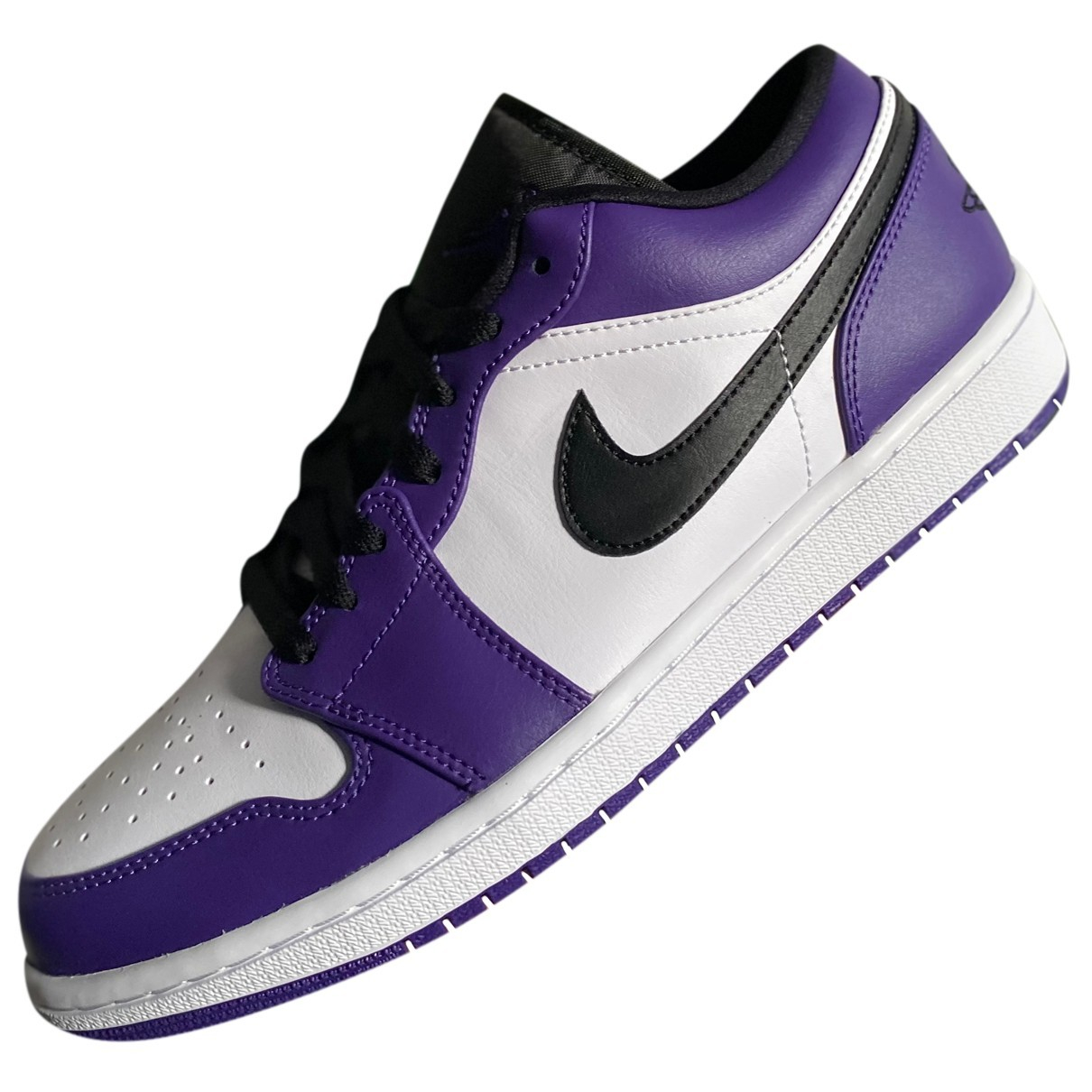 Jordan Air Jordan 1  Purple Leather Trainers for Men 43 EU