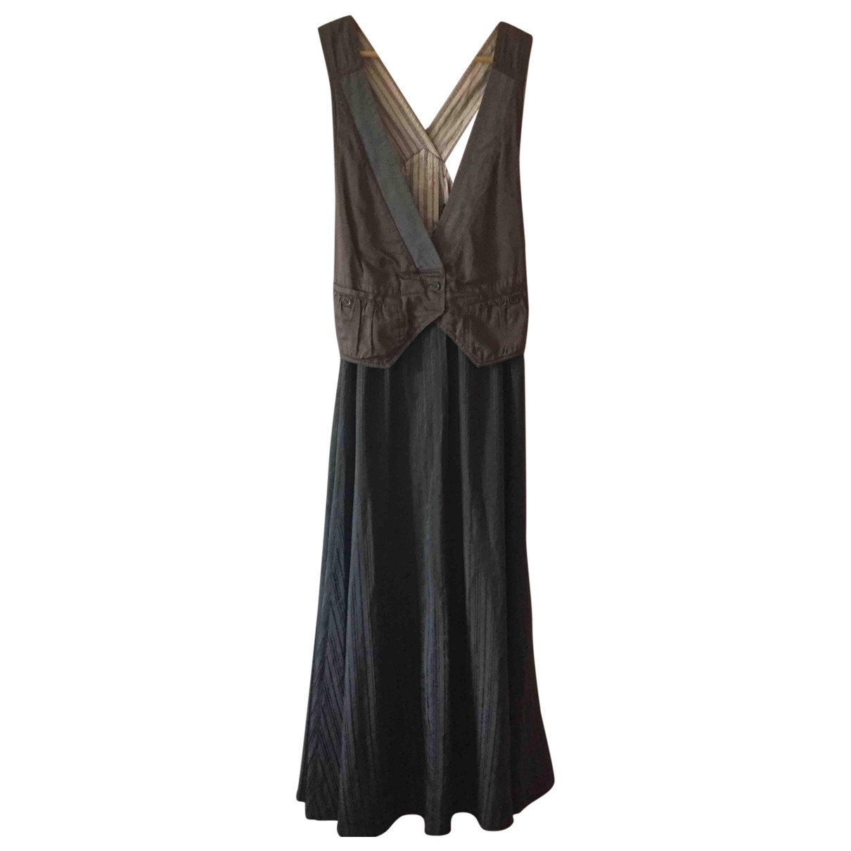Marc By Marc Jacobs \N Brown Silk dress for Women 6 US
