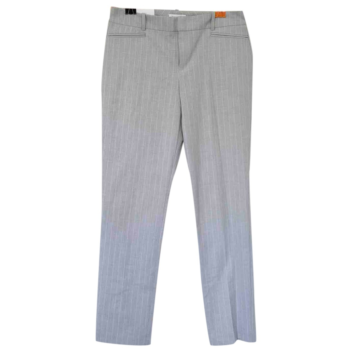 Calvin Klein \N Grey Trousers for Women 6 US