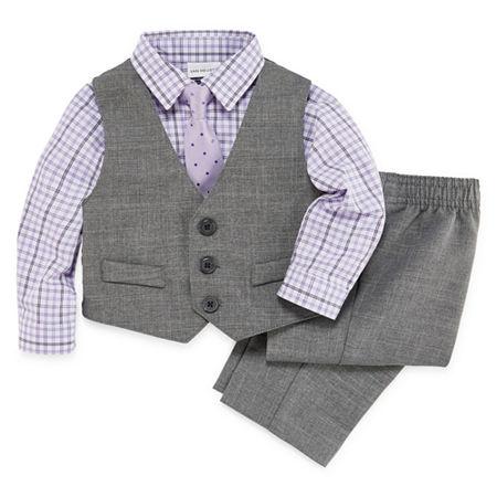 Van Heusen Baby Boys 4-pc. Suit Set, 18 Months , Gray