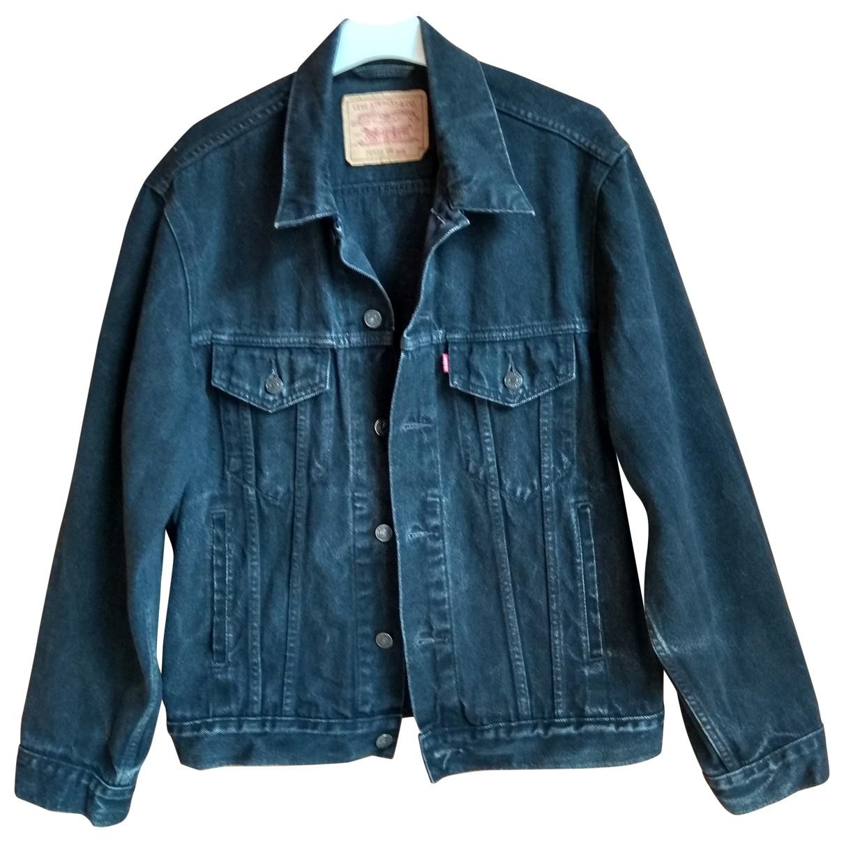 Levi's \N Black Cotton jacket  for Men M International