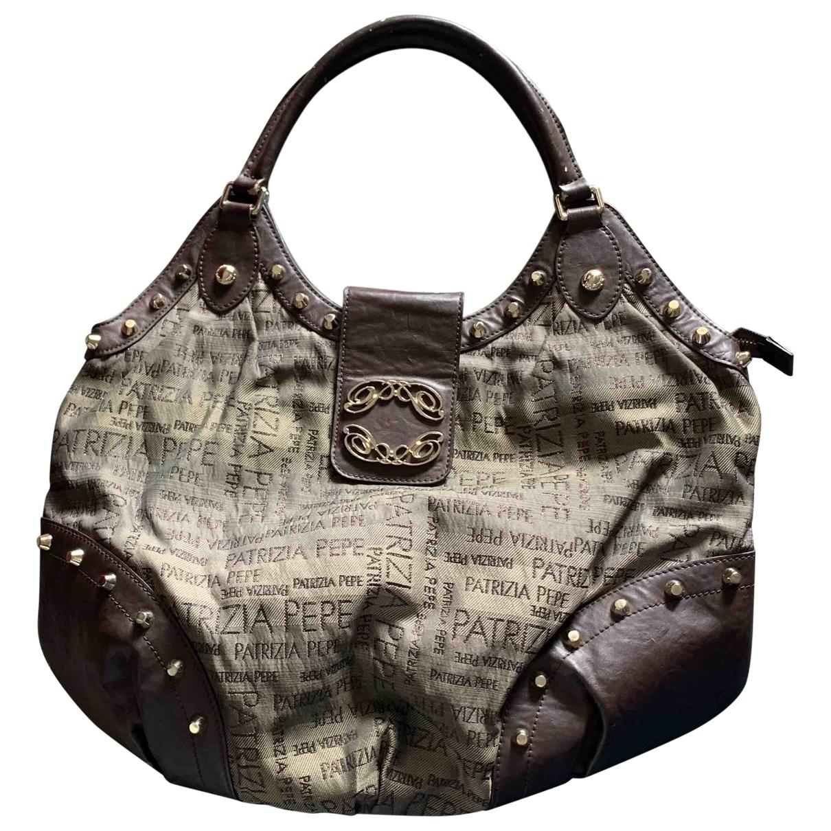Patrizia Pepe \N Brown Cloth handbag for Women \N