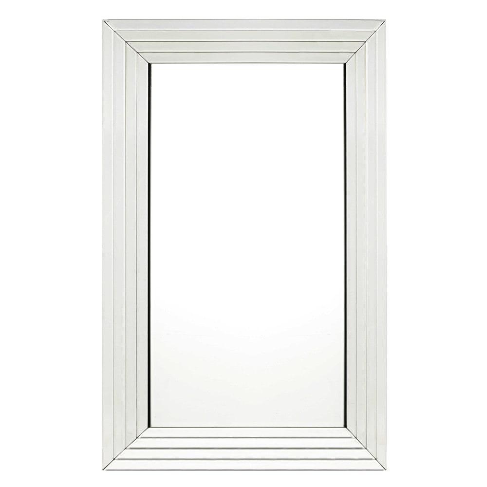 Facettierter Spiegel 80x120
