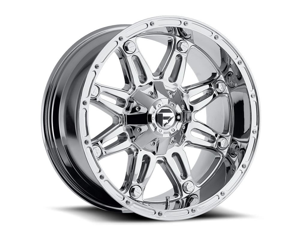 Fuel D530 Hostage Chrome 1-Piece Cast Wheel 18x9 6x135|6x139.7 -12mm