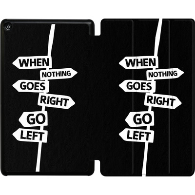 Amazon Fire HD 8 (2017) Tablet Smart Case - When Nothing Goes Right von We Make The Cake
