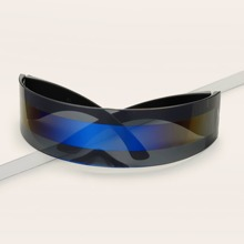 Sonnenbrille mit gestreiftem Muster