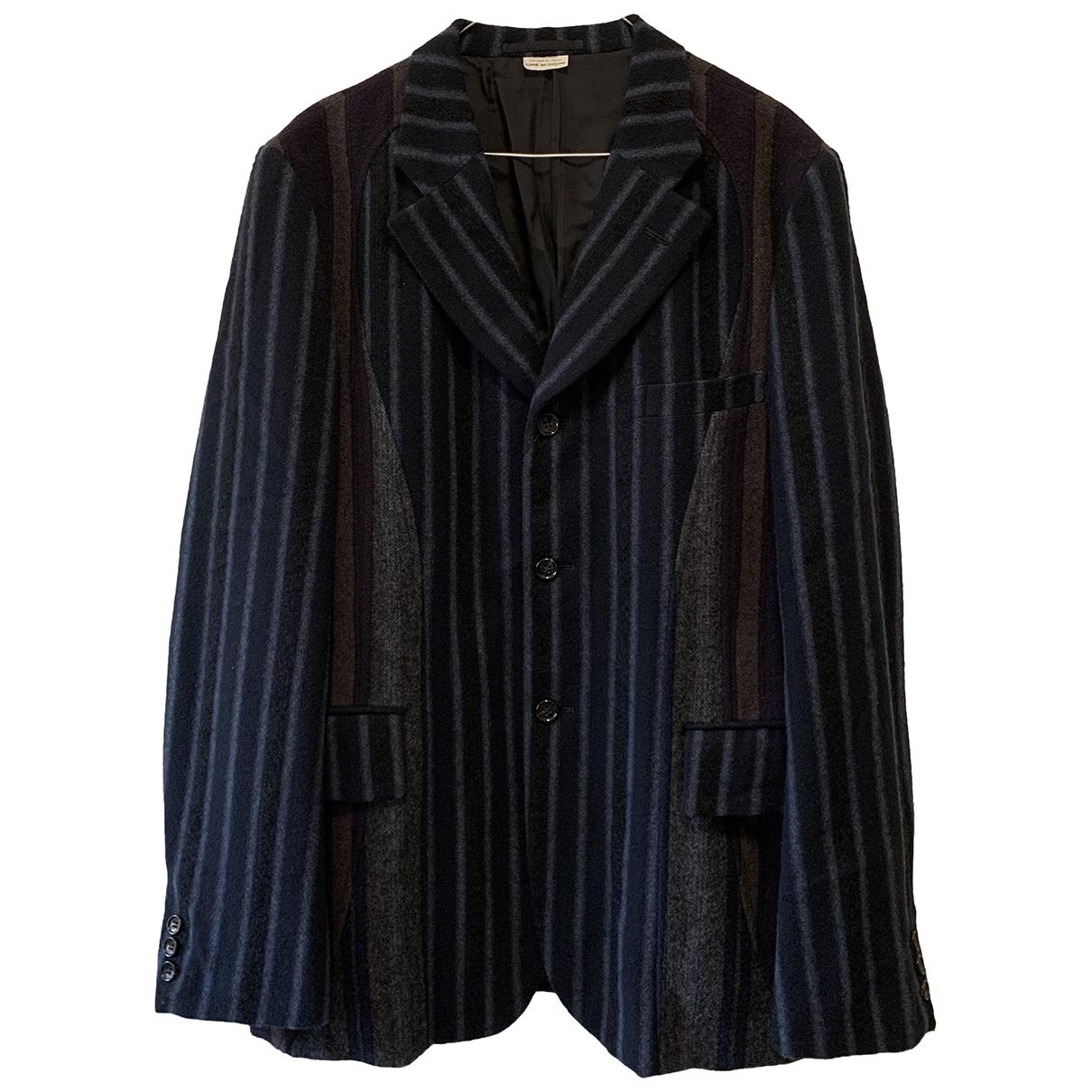 Comme Des Garcons \N Blue Wool jacket  for Men L International