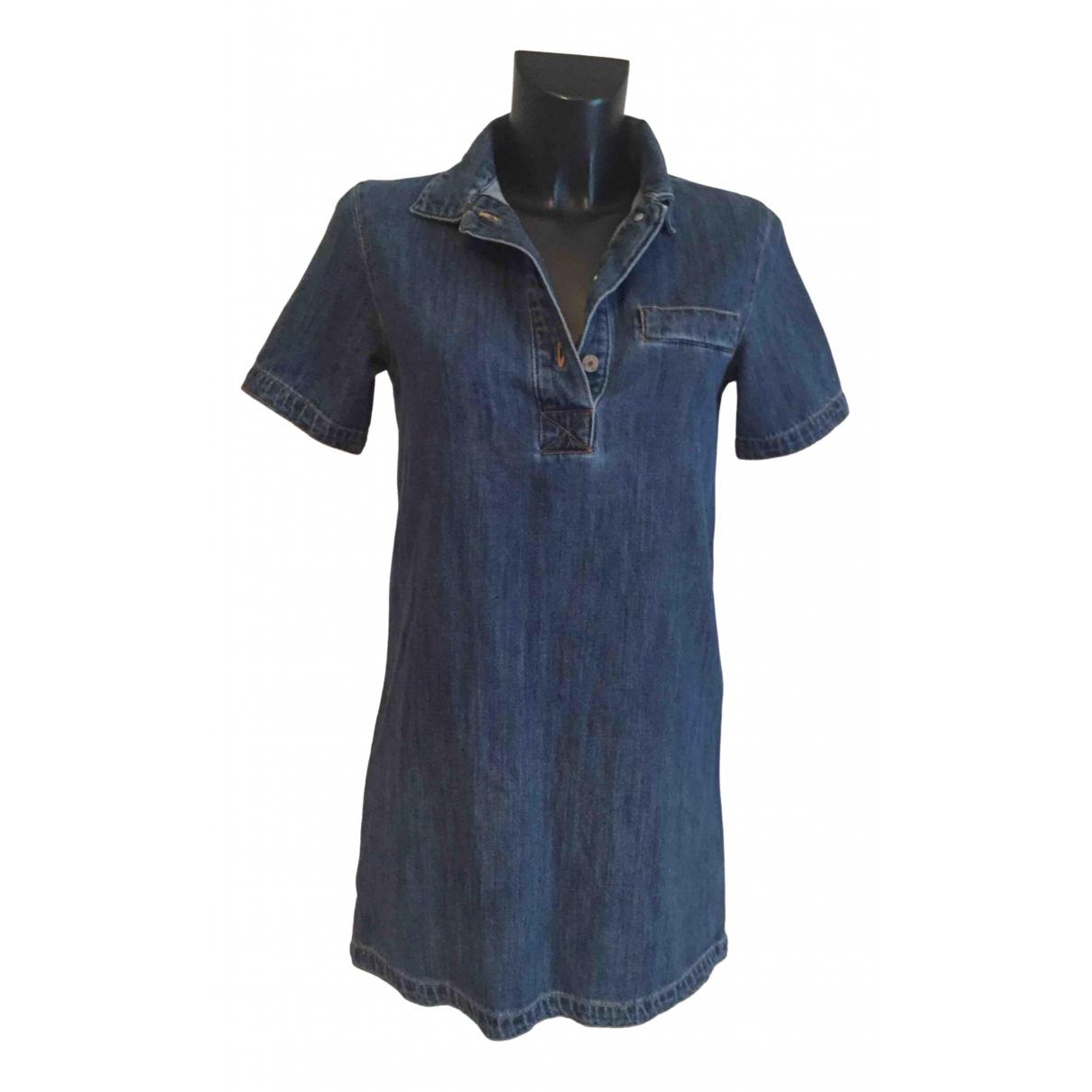 Mango \N Kleid in  Blau Denim - Jeans