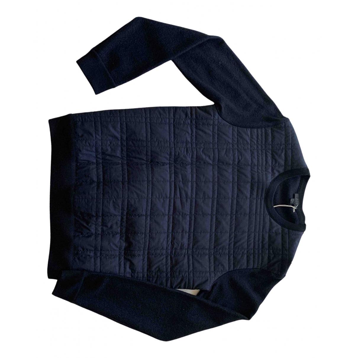 Cos - Pulls.Gilets.Sweats   pour homme en laine - bleu