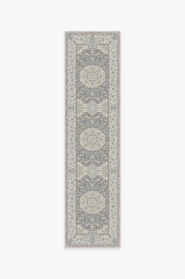 Washable Rug Cover & Pad | Sima Abalone Rug | Stain-Resistant | Ruggable | 2.5x10