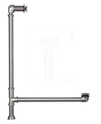 5599PD-PN Pivoting Leg Tub Drain  Polished