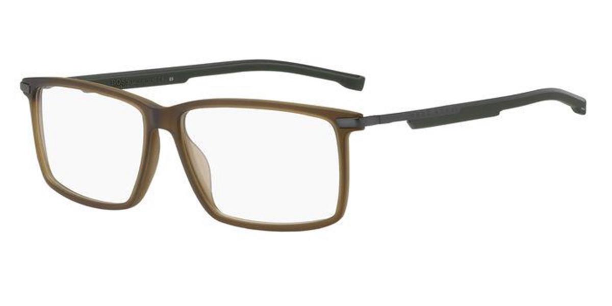 Boss by Hugo Boss Boss 1202 YZ4 Men's Glasses Brown Size 58 - Free Lenses - HSA/FSA Insurance - Blue Light Block Available