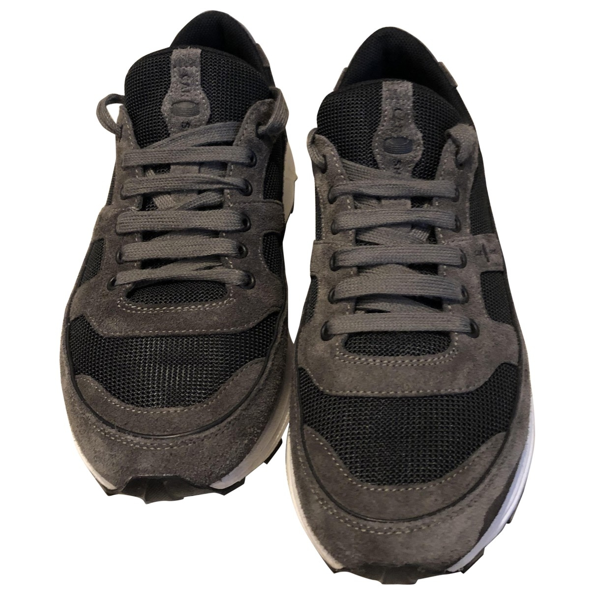 Carshoe \N Sneakers in  Anthrazit Veloursleder