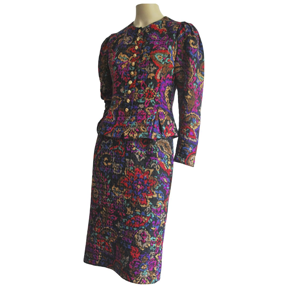 Louis Feraud - Veste   pour femme en laine - multicolore