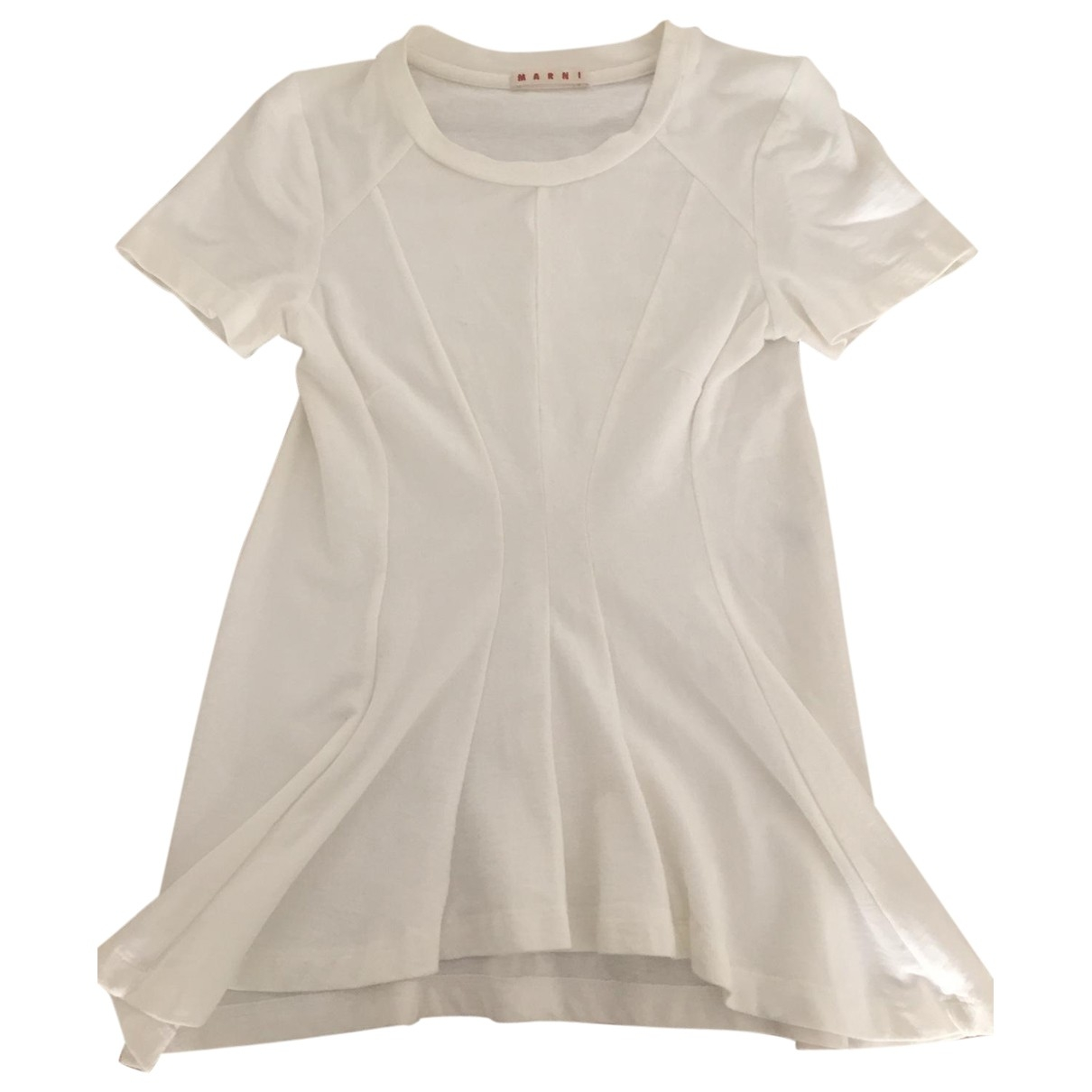 Marni \N Top in  Ecru Baumwolle