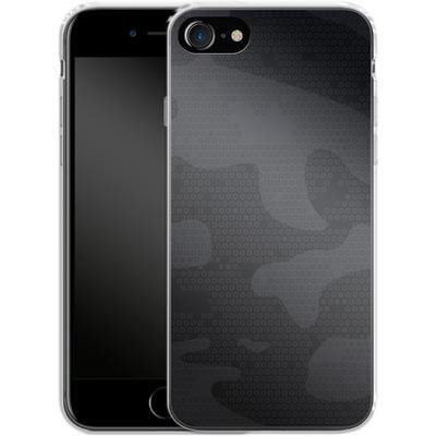 Apple iPhone 8 Silikon Handyhuelle - Spec Ops Dark von caseable Designs