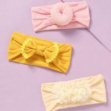 3 Stuecke Baby Haarband